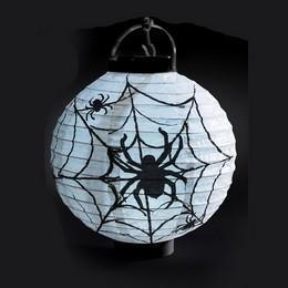 Pókháló Mintás LED-es Lampion