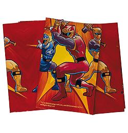 Power Rangers Parti Asztalterítő - 180 cm x 120 cm