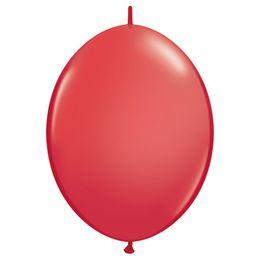 12 inch-es Red Quick Link (Standard) Lufi (50 db/csomag)