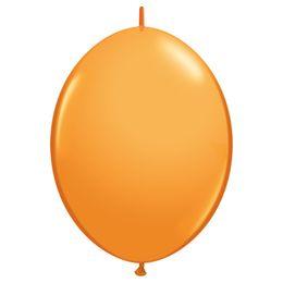 12 inch-es Orange Quick Link (Standard) Lufi (50 db/csomag)