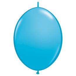 12 inch-es Robin's Egg Blue Quick Link (Fashion) Lufi (50 db/csomag)