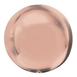 Rose Gold Orbz Fólia Lufi