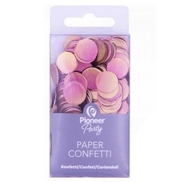Rosegold Ombre Színű Papír Konfetti, 20 gr-os
