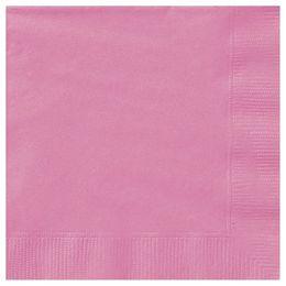 Hot Pink Papír Parti Szalvéta - 33 cm x 33 cm, 20 db-os