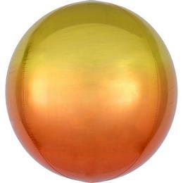 Sárga Narancssárga Ultra Shape Orbz Lufi