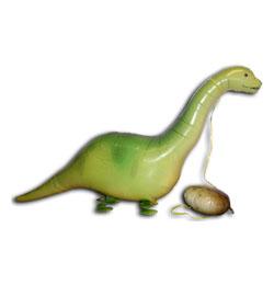 Sétáló Brontoszaurusz Lufi