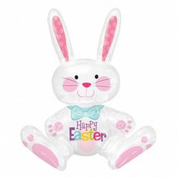 Sitting Bunny - Húsvéti Nyuszi Fólia Lufi