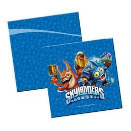 Skylanders Parti Szalvéta - 33 cm x 33 cm, 20 db-os