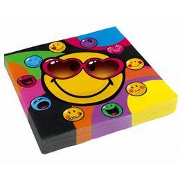 Smiley Express Mókás Parti Szalvéta - 33 cm x 33 cm, 20 db-os