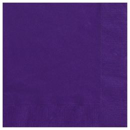 Deep Purple Papír Parti Szalvéta - 33 cm x 33 cm, 20 db-os