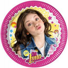 Soy Luna Parti Tányér - 20 cm, 8 db-os