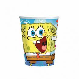 Spongebob Parti Pohár - 266 ml, 8 db-os