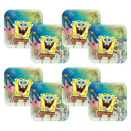 Spongyabob és Barátai - SpongeBob Parti Papír Tányér - 23 cm, 8 db-os