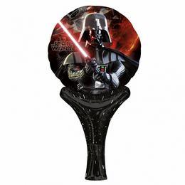 Star Wars - Darth Vader Inflate-A-Fun Levegős Fólia Lufi