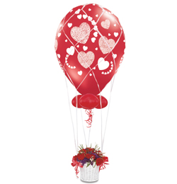 Balloon Net (léghajó háló) - 16 inch-es léggömbhöz