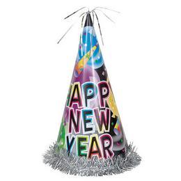 Happy New Year Feliratú Színes Kalap Szilveszterre