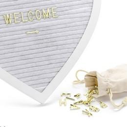 Szív Alakú Üzenő Tábla Esküvőre, 31 cm-es