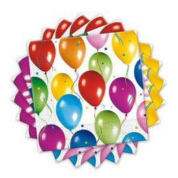 Balloon Fiesta Parti Szalvéta - 33 cm x 33 cm, 20 db-os