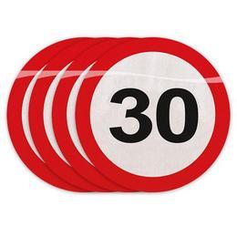 30-as Számos Sebességkorlátozó Szülinapi Parti Szalvéta - 30 cm, 20 db-os