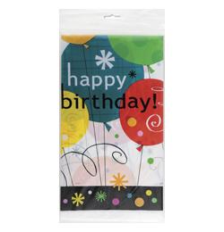 Breezy Birthday Szülinapi Parti Asztalterítő - 137 cm x 213 cm