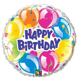 szülinapi lufis képek 18 inch es Szikrázó Lufik   Birthday Sparkling Balloons Szülinapi  szülinapi lufis képek