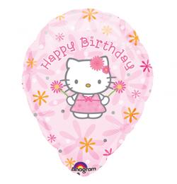 hello kitty születésnapi képeslap 18 inch es Hello Kitty Feliratozható Szülinapi Fólia Lufi  hello kitty születésnapi képeslap