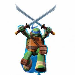 Tiny Mutant Ninja Turtles - Leonardo Super Shape Fólia Lufi