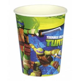 Teenage Mutant Ninja - Tini Nindzsa Parti Pohár - 266 ml, 8 db-os