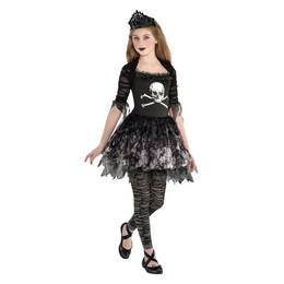 Tini Zombi Jelmez Lányoknak Halloween-re - 12-14 Éveseknek