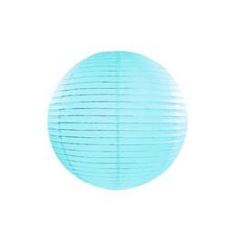 Türkizkék Gömb Lampion - 20 cm