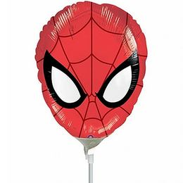 Ultimate Spider-Man Mini Shape Fólia Lufi (5 db/csomag)
