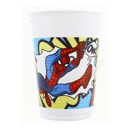 Pókember - Ultimate Spiderman Parti Pohár - 200 ml, 8 db-os