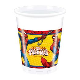 Ultimate Spiderman Power - Pókember Parti Pohár - 8 db-os, 200 ml