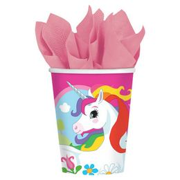 Unicorn Parti Pohár - 266 ml, 8 db-os