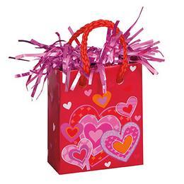 I Heart Valentine Szív Mintás Mini Ajándéktasak Léggömbsúly - 160 gramm
