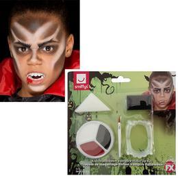 Vámpír Arcfestő Make-Up Készlet Útmutatóval Gyerekeknek