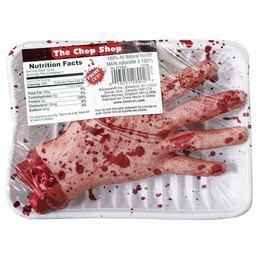 Véres Levágott Kéz Hallooween Kiegészítő