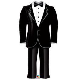39 inch-es Groom's Wedding - Vőlegény Szmoking Esküvői Fólia Lufi