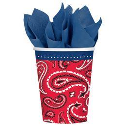 Bandana & Blue Jeans Parti Pohár - 266 ml, 8 db-os