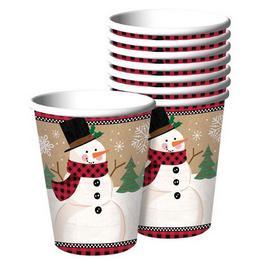 Winter Wonderland Karácsonyi Parti Pohár - 266 ml, 8 db-os