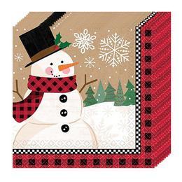 Winter Wonderland Parti Szalvéta - 33 cm x 33 cm, 16 db-os