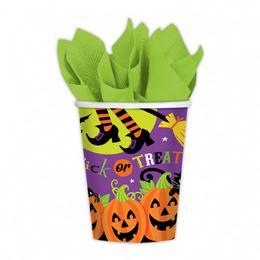 Witches' Crew Parti Pohár Halloween-ra - 266 ml, 8 db-os