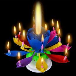 Zenélő Virág Tortadísz, Multicolor