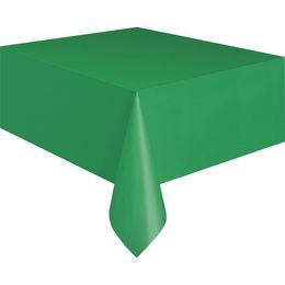 Emerald Green Műanyag Parti Asztalterítő - 137 cm x 274 cm