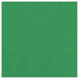 Emerald Green Papír Parti Szalvéta - 33 cm x 33 cm, 20 db-os