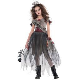 Zombi Bál Királynő Jelmez Halloween-re, 14-16 Éveseknek